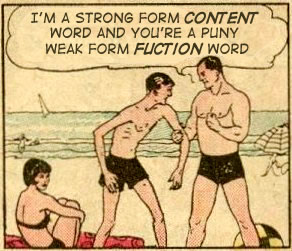 Weak Form meets Strong Form at the Beach