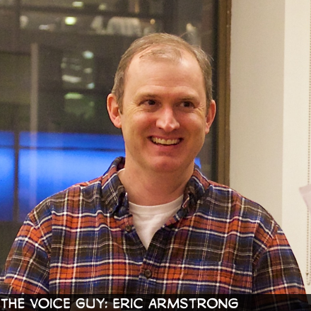 The Voice Guy: Eric Armstrong